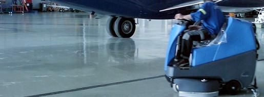 Operator Maszyny Czyszczącej na Lotnisku
